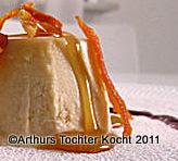Parfait mit Ziegenkäse, Thymianhonig und Beerensauce  | Arthurs Tochter kocht. Der Blog für Food, Wine, Travel & Love von Astrid Paul