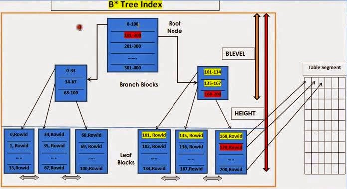 B Tree Index In Oracle With Diagram Leg Muscle Labeled It's All About Oracle: Introduction To Indexes, B* Scan Methods - Indexes ...