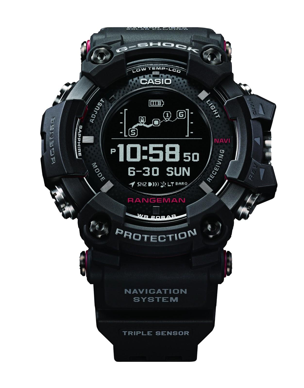 2010302934d Estação Cronográfica  Chegado ao mercado - relógio Casio G-Shock ...