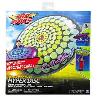 Air Hogs Hyper Disc, outdoor toys, air freesbie