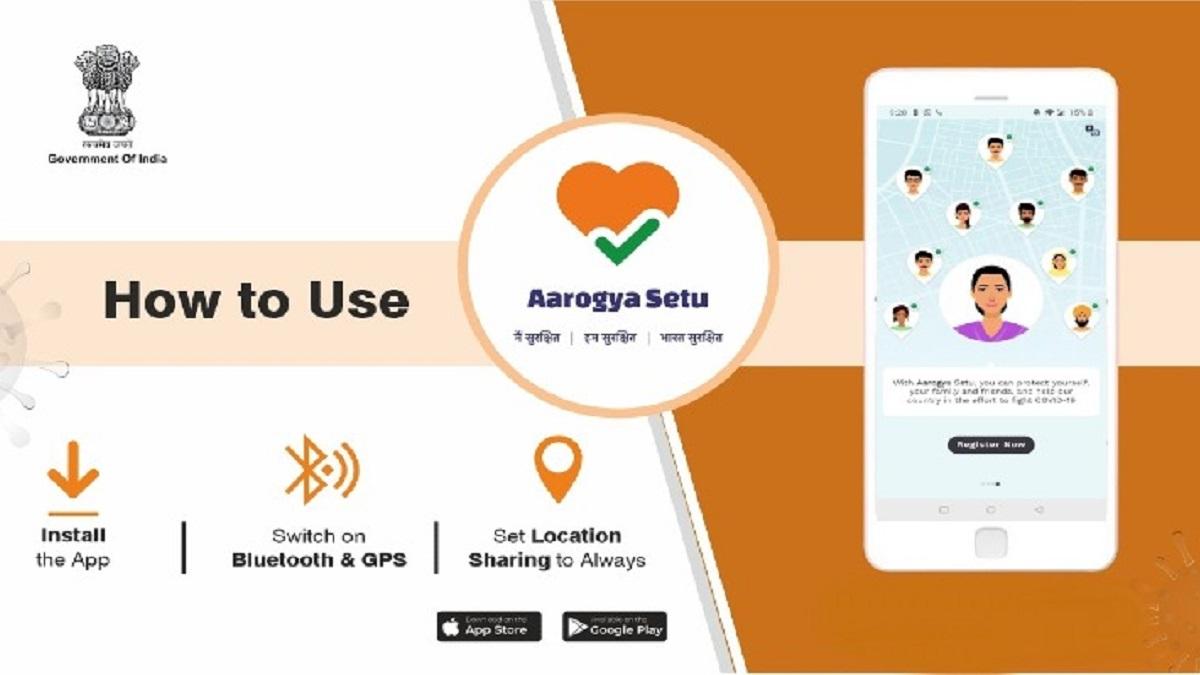 How to use Aarogya Setu App