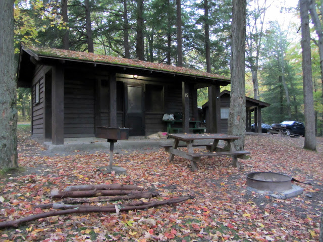 Photo of a cabin at Taughannock Falls State Park