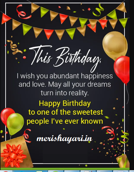 Happy Birthday Wishes, Quotes, Messages & Greetings
