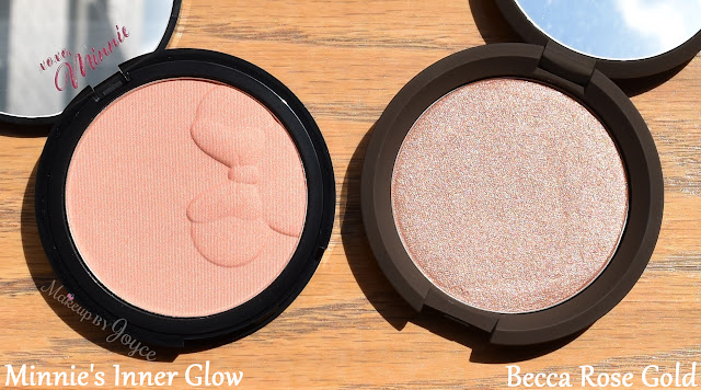 Sephora Disney Minnie's Inner Glow Luminizing Blush Highlighter Review
