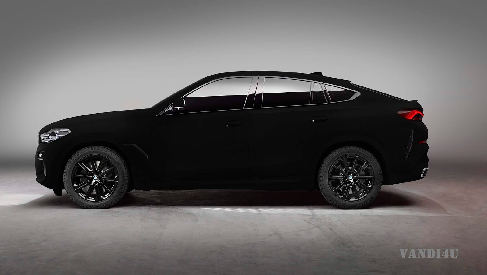 BMW Revealed The World's Blackest Black Car - X6 Vantablack | VANDI4U