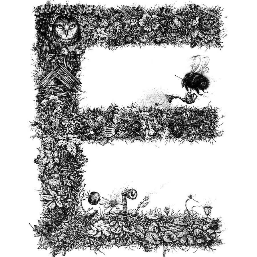 08-E-Owl-and-bumblebee-gardener-Monika-Mitkute-www-designstack-co