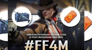 Kode Redeem FF4M