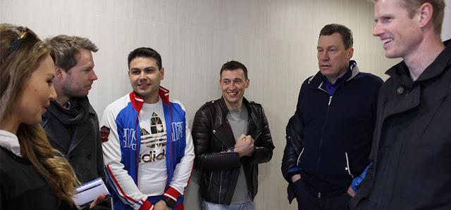 Норвежцы посетили Пересвет по приглашению Легкова Пересвет Сергиев Посад