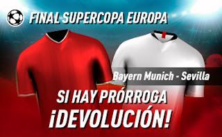 sportium Promo Supercopa de Europa 24 septiembre 2020