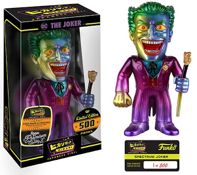 "The Joker ""Spectrum"" DC Comics Hikari Sofubi Vinyl Figure by Funko"