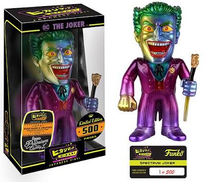 "The Joker ""Spectrum"" DC Comics Hikari Sofubi Vinyl Figure by Funko"