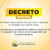 Prefeitura de Guaramiranga fecha entradas da Cidade
