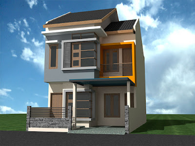 desain rumah 2 lantai minimalis | serba baru