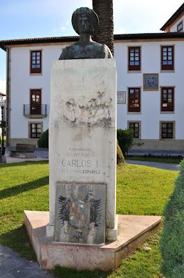 Villaviciosa. Busto de Carlos I