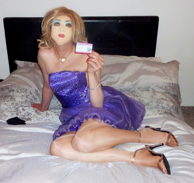 Cross-dressing sissy exposed by wife