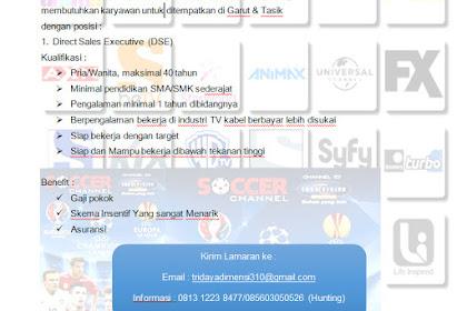 Lowongan Kerja TV Pay Indonesia Penempatan Tasikmalaya dan Garut