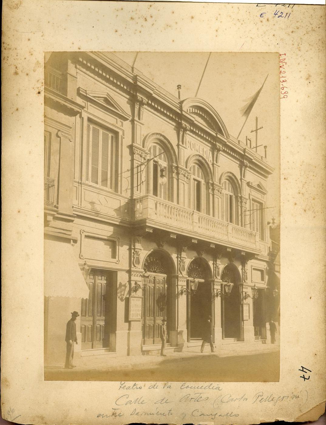 Teatros de Buenos Aires del Siglo XVII al XXI: 1891 Teatro Comedia ...