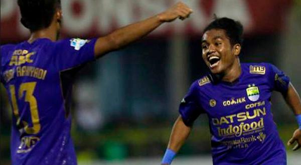 Persib Kalahkan Sriwijaya FC di Palembang, yang Keren Gol Billy