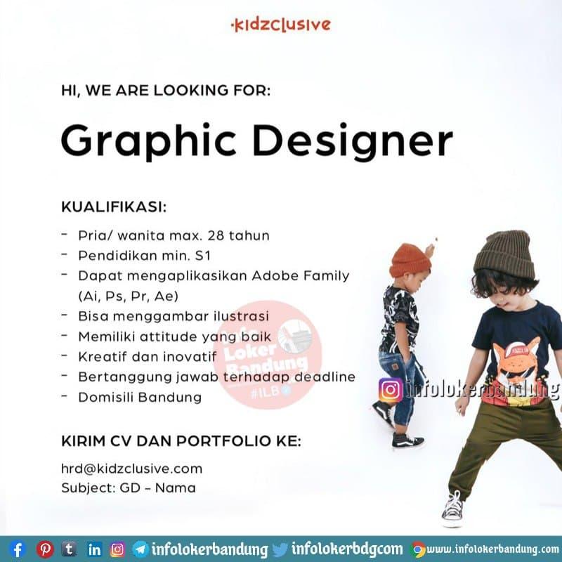 Lowongan Kerja Kidzclusive Bandung Januari 2021