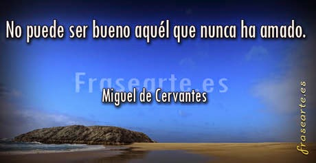 Mensajes de amor, Miguel de Cervantes