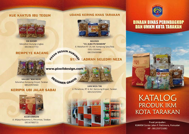 Iklan Brosur Promosi Makanan Ringan