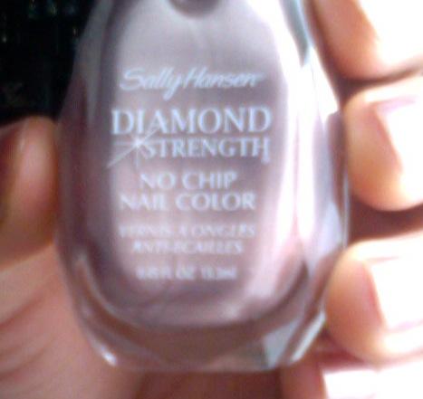 So Weird Sally Hansen Diamond Strength Nude Shimmer Review
