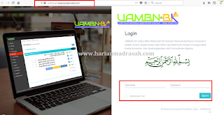 http://madrasah.argociptapersada.co/ Alamat Pendataan UAMBNBK