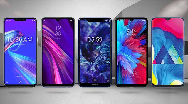 5 Best 4G Smartphone Under 10000 with 6GB RAM in India 2020