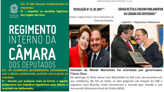 BOMBA! Pedido cassação de Waldir Maranhão.