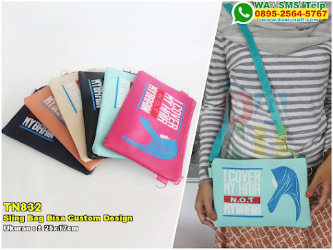 Sling Bag Bisa Custom Design