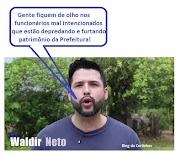 Waldir Neto fala grosso em Lago da Pedra