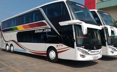 Harga Tiket, Alamat, Nomor Telepon Agen Bus Sinar Jaya