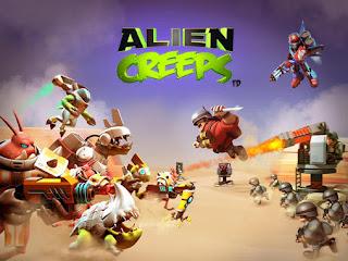 Alien Creeps TD Mod Apk v2.7.1 Unlimited Money