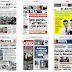 Τα πρωτοσέλιδα των εφημερίδων σήμερα Πέμπτη 12 Αυγούστου