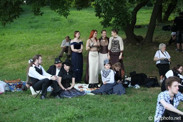 викторианский пикник