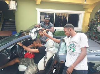 Mark Angel Comedy: Actor, Denilson Igwe Shows Off New Ride