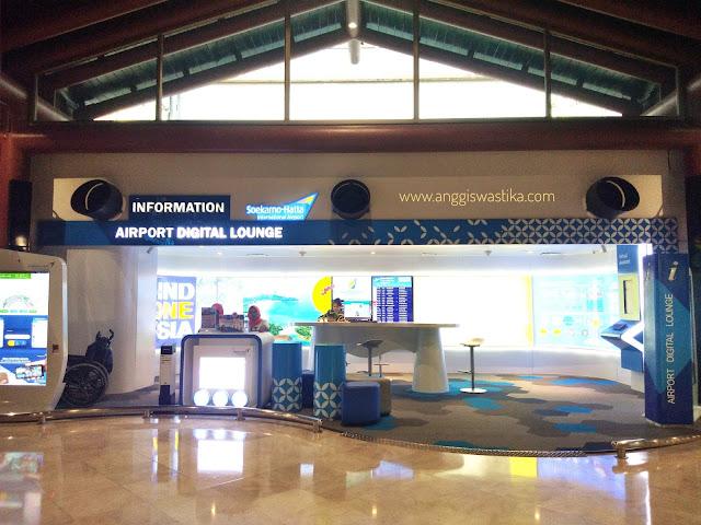 Digital Lounge Bandara Soekarno Hatta