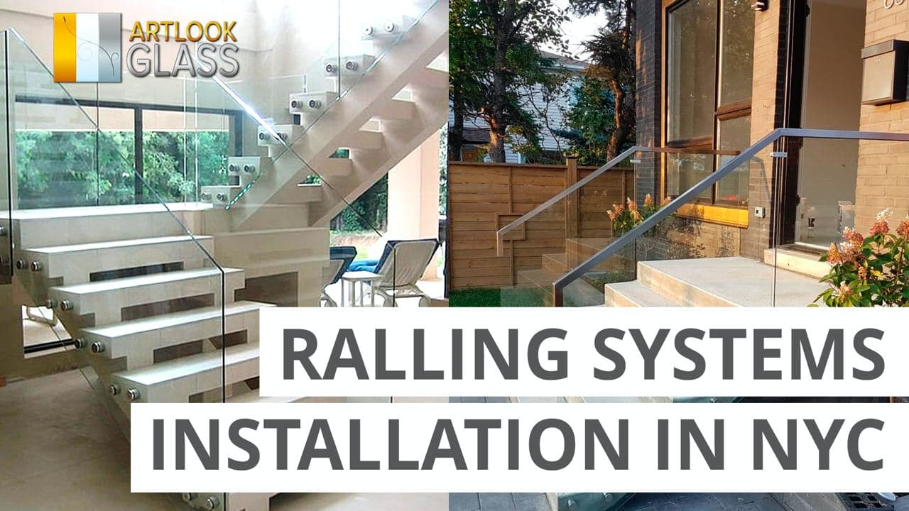 Glass Railing Systems Installation In NY