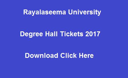 ru ug hall tickets 2017 manabadi