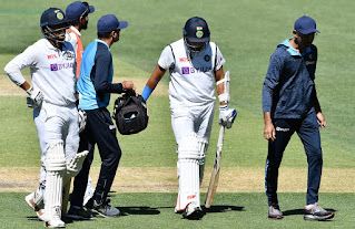 cricket player injudred