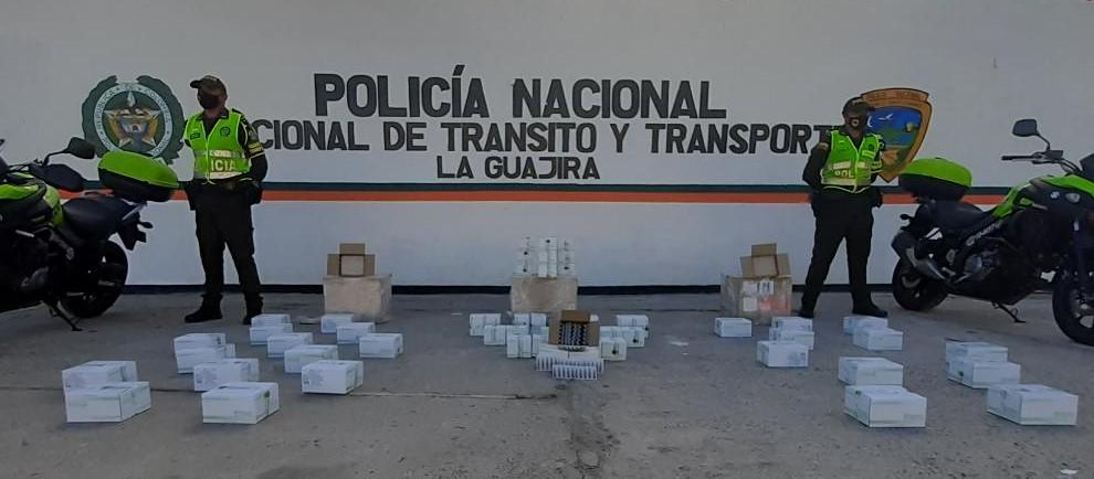 https://www.notasrosas.com/Policía Guajira captura una persona por receptación, y decomisa medicamentos