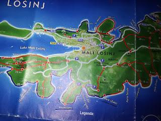 maps+croatia+malilosinj