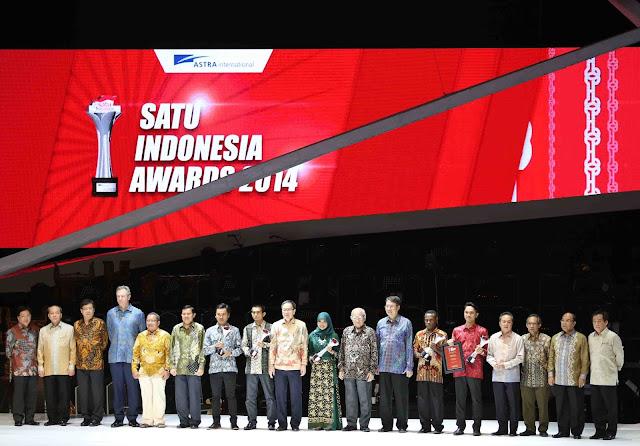 Penganugerahan SATU Indonesia Award 2014/Sumber Gambar: Satu Indonesia