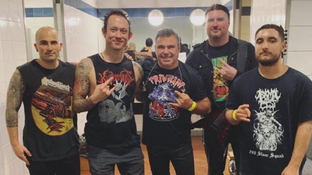 Toy anuncia lançamento de tema em versão metal e digressão com os Trivium