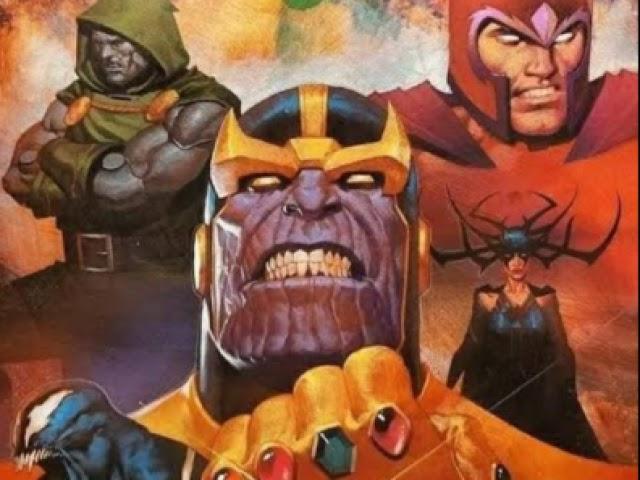 Os dez melhores vilões dos quadrinhos!