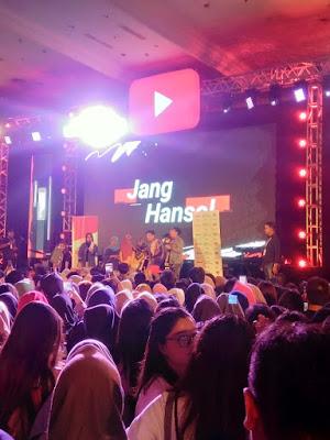 Salah satu rangkaian acara YouTube Fan Fest
