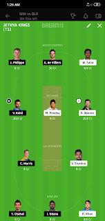SRH VS RCB Eliminator Dream 11 6 Nov 100% The Dream Team Winning IPL 2020