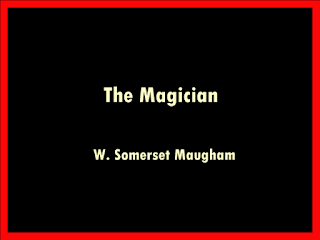 The Magician, novel by W. Somerset Maugham