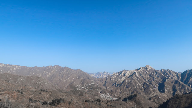 pegunungan di mutianyu