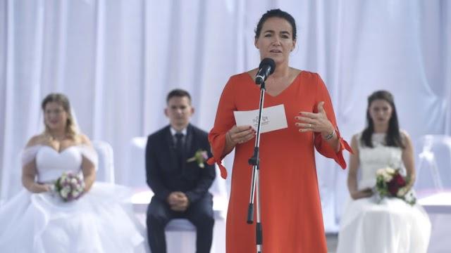 Novák Katalin: Magyarországon a házasságkötés reneszánszát éli